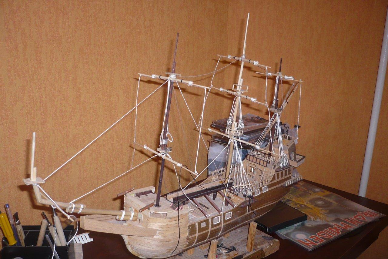 Как сделать поделку, игрушку корабль, кораблик из дерева своими руками? 72